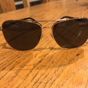 Coach sunglasses with hard case. Barely worn.